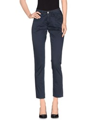 Carlo Chionna Trousers Casual Trousers Women Dark Blue