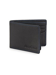 Robert Graham Pine Leather Wallet Black