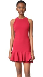 Cushnie Et Ochs The Josephine Dress Ruby