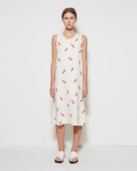 Marni Feather Print Dress