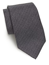 Ralph Lauren Textured Silk Tie Grey