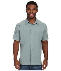 Kuhl Renegade Shirt Desert Sage Men's Short Sleeve Button Up Gray