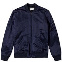 A.P.C. X Louis W. Jerry Bomber Jacket Blue