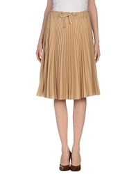 Vdp Club Skirts 3 4 Length Skirts Women Sand
