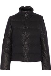 Y 3 Quilted Shell Jacket Black