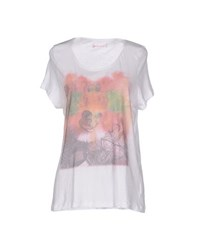 40Weft Topwear T Shirts Women White