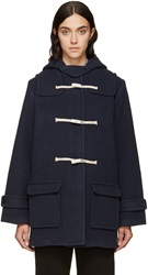 Ymc Navy Duffle Coat