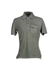 Cnc Costume National Costume National Topwear Polo Shirts Men Military Green
