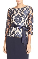 Women's Adrianna Papell Embroidered Lace Top