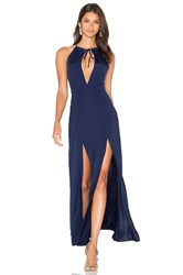 Wyldr Out Of My League Maxi Dress Navy