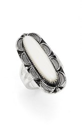Women's Bp. 'Vintage Oval' Stone Ring