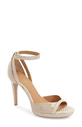 Women's Calvin Klein 'Persey' Ankle Strap Sandal Cocoon Patent Leather
