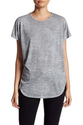 Nation Ltd. Evan Twist Back Tee Gray