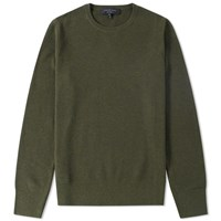 Rag And Bone Jensen Crew Knit Green