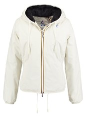 K Way Kway Marmot Winter Jacket Ant White Depth Blue Off White