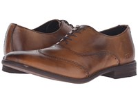 Bed Stu George Tan Glove Leather Men's Lace Up Wing Tip Shoes Brown