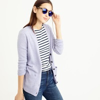 J.Crew Collection Italian Cashmere Boyfriend Cardigan Sweater