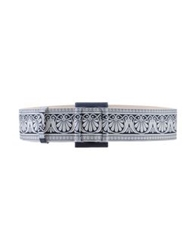 Fausto Puglisi Belts Ivory