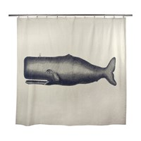 Thomas Paul Thomaspaul Moby Flax Shower Curtain
