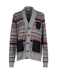 Suit Knitwear Cardigans Men Grey