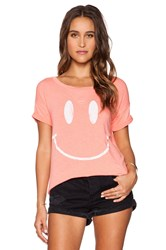 Rebel Yell X Boyfriend Tee Coral