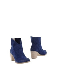 Innue' Ankle Boots Ocher