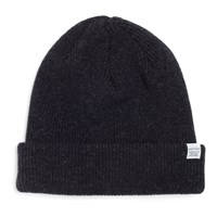 Norse Projects Charcoal Grey Wool Beanie