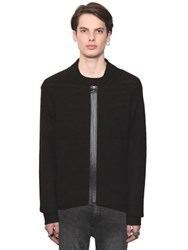 Cheap Monday Wool Blend Knit Zippered Cardigan