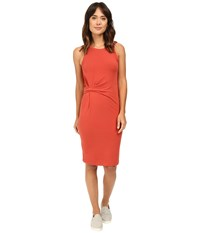 Alternative Apparel Spandex Jersey Downtown Tank Dress Marsala Women's Dress Orange