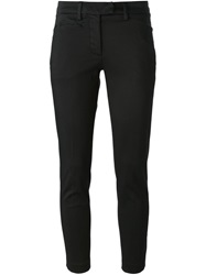 Dondup Cropped Chino Trousers Black