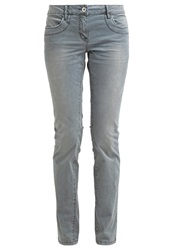 Tom Tailor Carrie Trousers Canvas Petrol