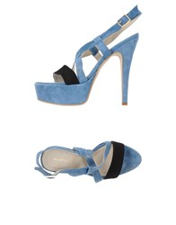 Annarita N. Footwear Sandals Women Pastel Blue