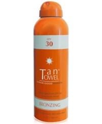 Tantowel Spf 30 Bronzing Mist 6 Fl Oz No Color