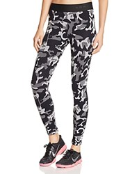 Koral Knockout Camo Print Leggings Black Camo