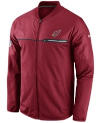 Nike Men's Arizona Cardinals Elite Hybrid Jacket Red White White