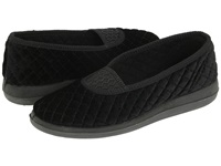 Foamtreads Waltz Black Velour Women's Slippers