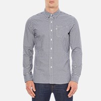 Levi's Men's Sunset 1 Pocket Shirt Mentha Dress Blues Plaid