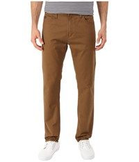 Rvca Daggers Twill Pants Bark Men's Casual Pants Brown