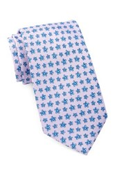 Tailorbyrd Silk Flowers Tie Purple