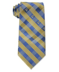 Eagles Wings St. Louis Rams Checked Tie