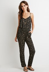 Forever 21 Tribal Print Cami Jumpsuit