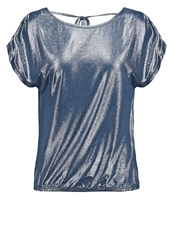 Saint Tropez Basic Tshirt Estate Blue