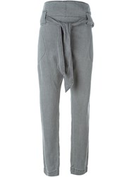 Vivienne Westwood Anglomania Belted Trousers Grey