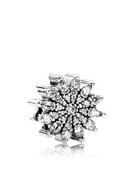 Pandora Design Pandora Charm Sterling Silver And Cubic Zirconia Ice Moments Collection