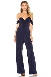 House Of Harlow X Revolve Bianca Jumpsuit Navy