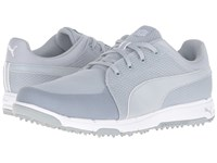 Puma Grip Sport Quarry White Men's Golf Shoes Gray