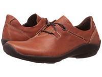 Wolky Rosa Cognac Greased Women's Shoes Brown
