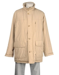 Henry Cotton's Mid Length Jackets Sand