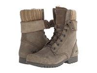 Caterpillar Casual Alexi Grey Suede Women's Lace Up Boots Gray