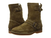 Hush Puppies Aydin Catelyn Dark Olive Suede Women's Boots